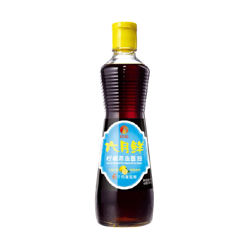 柠檬蒸鱼酱油