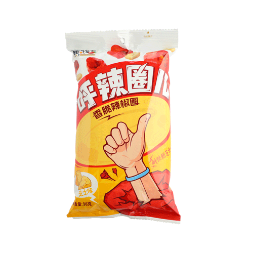 呼辣圈儿(香脆辣椒圈)芝士味