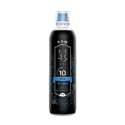 六月鲜•轻 10克轻盐原汁酱油