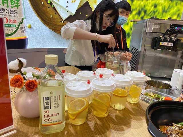 (醯官醋泡醋和黄飞红菜品)
