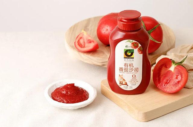 禾然有机新味:有机番茄沙司